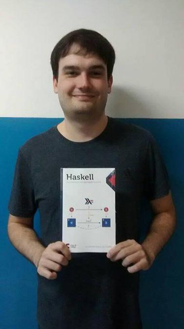 Imagem: Prof. Alexandre Garcia lança livro de linguagem Haskell