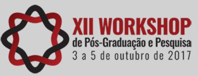 Notícia: XII Workshop de Pós-Graduação e Pesquisa