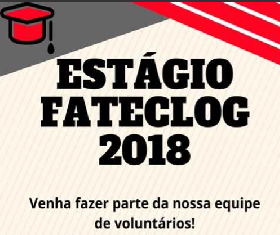 Notícia: Estágio FATECLOG 2018
