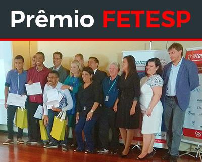 Notícia: Curso de SI conquisto prêmio na 11° FETESP