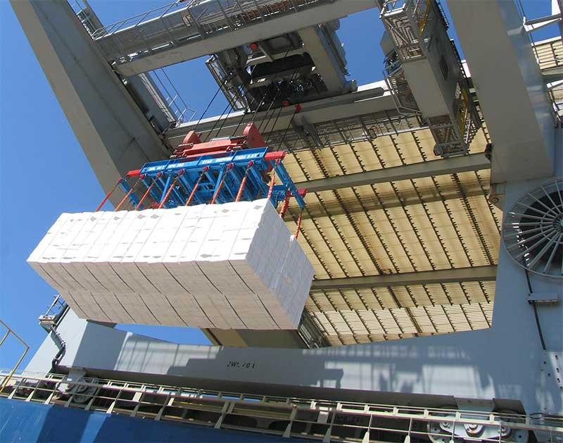 Imagem: Pesquisa analisa embarque de celulose no Porto de Santos