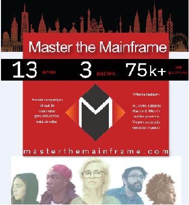 Imagem: Concurso mundial - Master the Mainframe