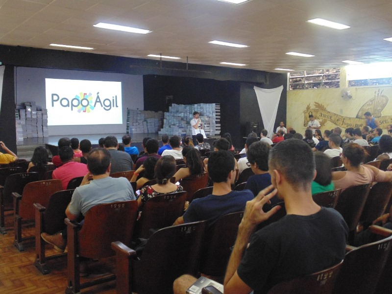 Notícia: Fatecrl recebeu o primeiro Meetup de Agile 2018